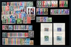 Spain 1954/1961 – Lot with 33 complete series