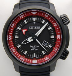 Citizen Promaster Eco Drive GMT 200M – Men's watch – New