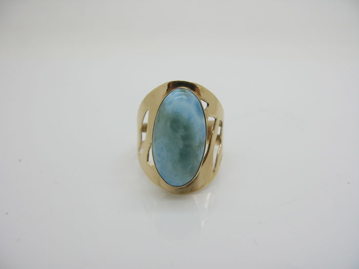 hairmasters haircut prices delicate 18 kt gold ring with larimar oval cut 3254