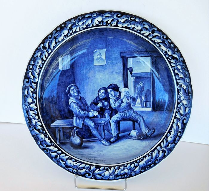 Villeroy Boch Made In Germany: A Large Wall Platter VILLEROY & BOCH, METTLACH, Made In