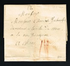 France 1771/1911 - 20 old letters and covers