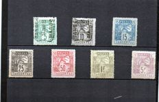 "Former French Colonies 1892/1924 – Morocco ""local post offices"" set/series and collection"