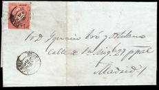Spain 1856/1870 - Lot 16 letters Teruel Postal History.