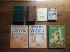 Napoleon; Lot of 7 books on the emperor - 1909/1961