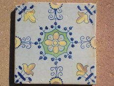 Polychrome Haarlem decorative tile