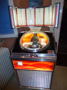 Jukebox Ami Continental 2 with scroll wheel selection - VIDEO AVAILABLE