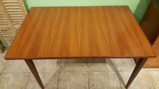 Manufacturer unknown - vintage, mid-century, modern, extendable table