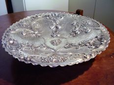Centrepiece in silver 800 - 19th/20th century