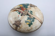 Oriental erotica; Massage oil pot with erotic display - 2nd half of 20th century