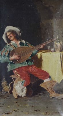 Filippo Marantonio. (19th/20th century) - The musician.