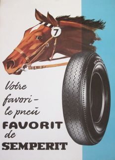 Koszler - Favorit, the tyre from the firm Semperit - 1966