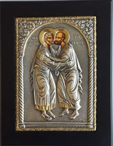 St. Peter& Paul Icon