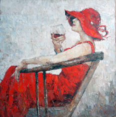 Rodion Vanetsov - Woman in the red dress