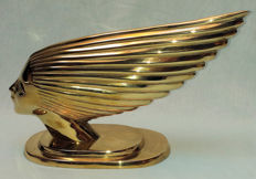 Art Deco car mascot - Spirit of the wind - Inspired by the original French mascot from the 1930s