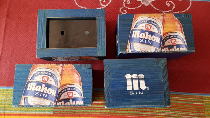 Mahou without serviette holders