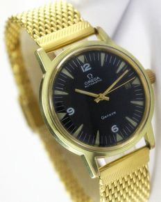Omega Geneve Gold Plated - Men's Wrist Watch - Circa 1970s