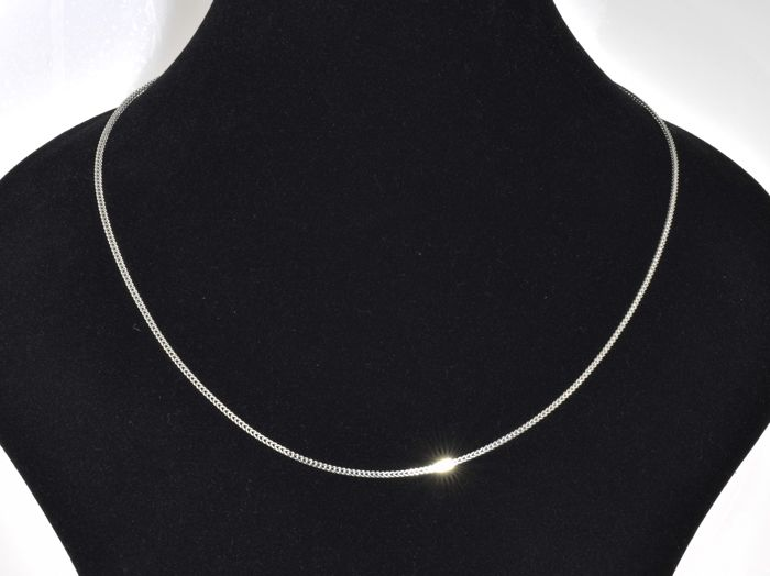 "18k Gold Necklace. Chain ""Franco"" - 45 cm. No reserve price."