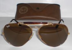 Ray Ban - Bausch & Lomb - Aviator Shades - Outdoorsman - Sunglasses - unisex