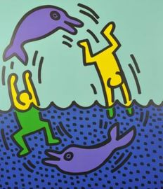 Keith Haring (after) - Untitled/Andy Mouse/Untitled - 1983 - 1987