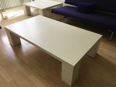 Metaform - Two coffee tables, rectangular and square