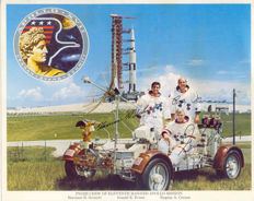 Apollo 17 crew signed