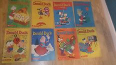 Donald Duck Weekblad - 155 issues - 155xsc - 1st edition (1967/1969)