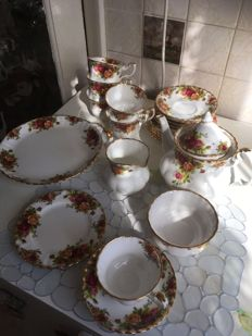 China tea service - Royal Albert Old Country Rose