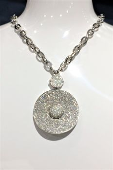 Centoventuno - Collier - 18k gold - Diamond - 45 cm length