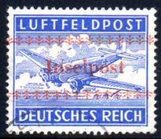 German Reich – 1944 – field post approval stamp for Crete, Michel 7A