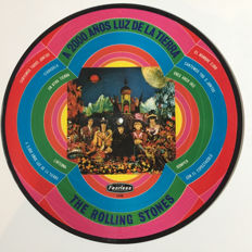the Rolling Stones :: Very Rare - Their Satanic Majesties Request - Mexican Picture Disc