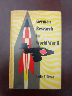 Simon, Leslie E. - German research in World War II - C + jaquette - EO américaine (1947)
