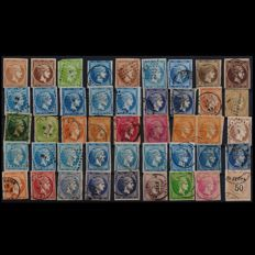 Greece 1860s-1890s - Collection of 225 Large and Small Hermes Heads, with some covers