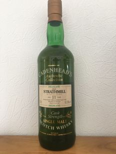 Strathmill 1980 11 years old - cask strength