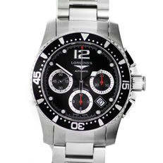 LONGINES - HYDROCONQUEST  CHRONOGRAPH - FOR MEN - 2017