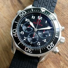 Omega Black Seamaster Olympic Limited edition Automatic Chronograph