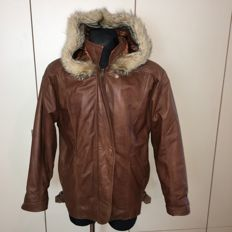Giorgio – 100% Real Leather and Fur Jacket - ***NO RESERVE***