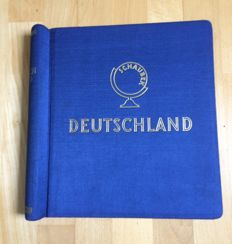 German Empire/Reich - 1870 - 1930 - collection in Schaubek clip binder