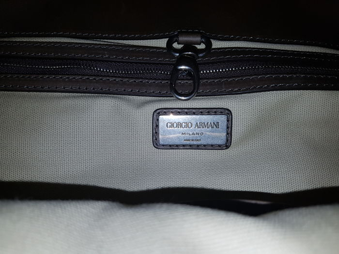 c1109275c2cd Giorgio Armani – Bag with handles and shoulder strap - Catawiki