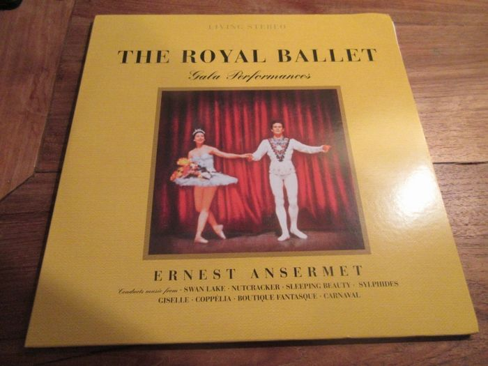 The Royal Ballet - Ernest Ansermet 180 gr 2LP & Carreras Domingo Pavarotti in concert Mehta  LP
