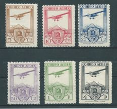 Spain 1930 - Aerial Railways - Edifil 483/488