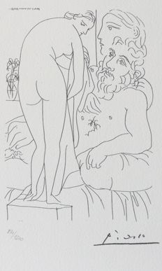 Pablo Picasso (after) - Suite Vollard Planche XXII
