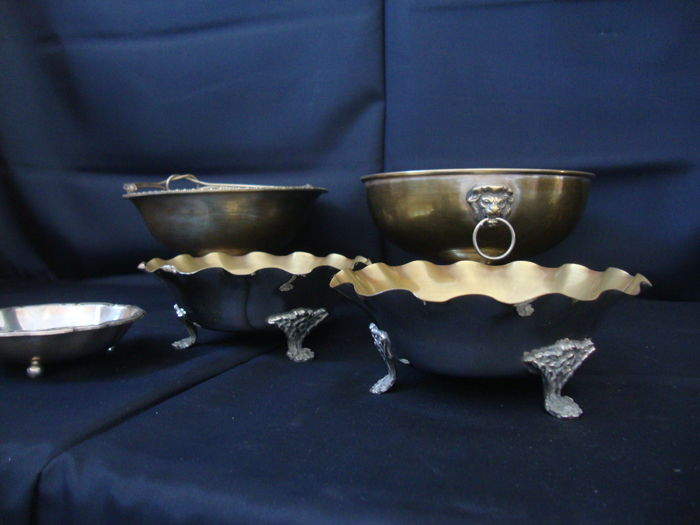 Silver Plated Bowl Lot