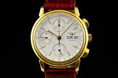 Longines 18k Gold Automatic Chronograph