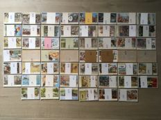 Liebig/54 full sets in good condition!  (324 chromos)
