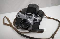 "Super rare! Camera Kiev-4M (prototype Contax Carl Zeiss Jena) The USSR  1947-1985 ""Arsenal""(Kiev)"