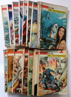 Albi dell'Intrepido, collections - 19x comic books - ##153/172 - #161 is missing (1967-69)