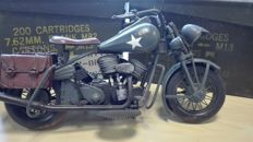 WW2 - Harley- Davidson Military WLA Metal Model