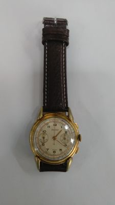 Watch – Excelsior. Swiss Hand-wound chronograph. Rare.