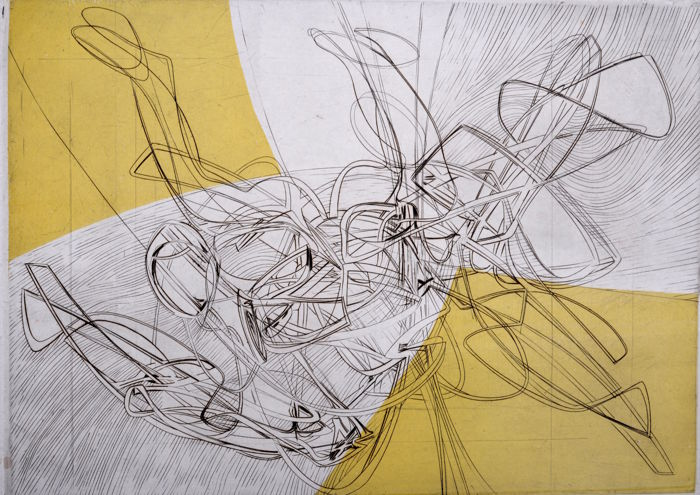 Stanley William Hayter -  Les Erinnyes