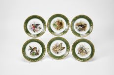 6 Vista Alegre dishes numbered and limited collection